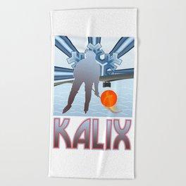 Kalix Winter Beach Towel