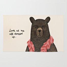 Bear Dress Up Boa Rug