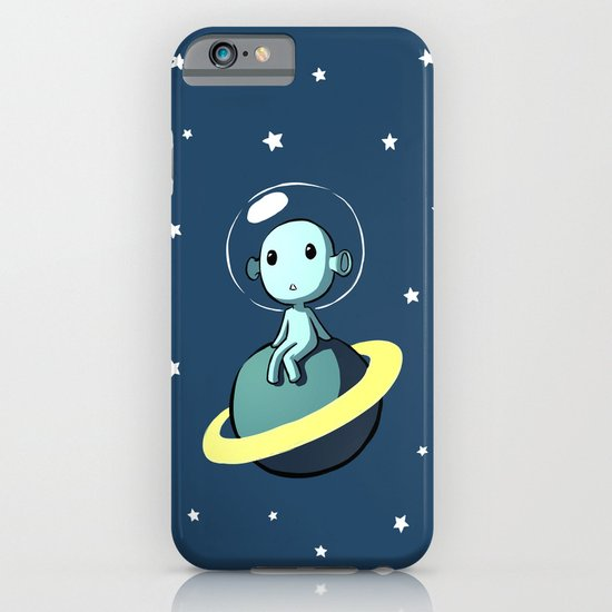 Space Alien iPhone & iPod Case
