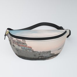 French Riviera Coast | Europe France Antibes City Sunset Landscape Photography Fanny Pack