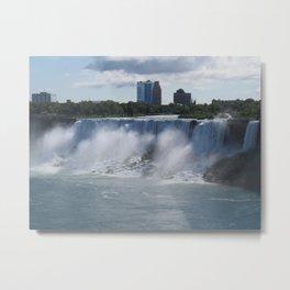 Quarter View of American Falls Metal Print