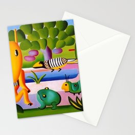 Classical Masterpiece 'A Cuca' by Tarsila do Amaral Stationery Cards