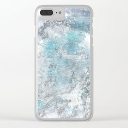 Mold Skeleton 1 Clear iPhone Case