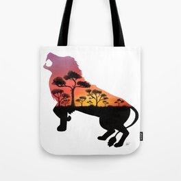 Bold As A Lion Tote Bag