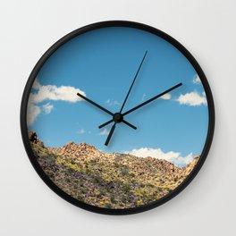 Landscape Joshua Tree 7356 Wall Clock