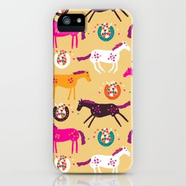 Lucky Horses iPhone Case