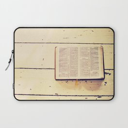 Reading the Psalms Laptop Sleeve