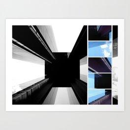 Eternal Tower - Modern Architecture in Berlin Photo Collage Art Print