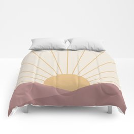 Morning Light - Pink Comforters