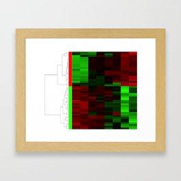 Christmas Coral Genes Framed Art Print