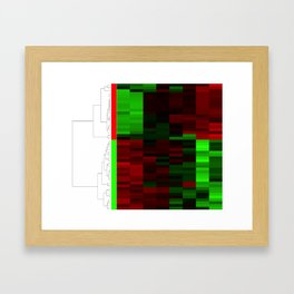 Christmas Coral Genes Framed Art Print