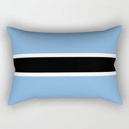 Flag of Botswana Rectangular Pillow