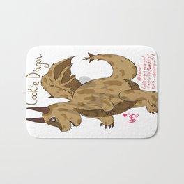 Cute Cookie Dragon ^w^ Bath Mat
