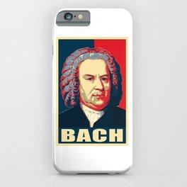 Johann Sebastian Bach Pop Art iPhone Case