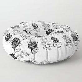 Garden Troll Treasures Floor Pillow
