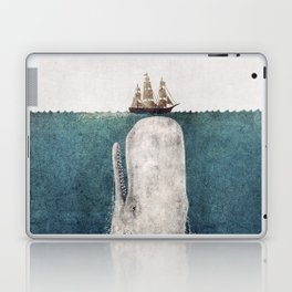 The Whale - vintage  Laptop & iPad Skin