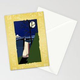 Kaguya Hime Daughter Of The Moon Stationery Cards
