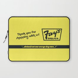 Fay's Drugs | the Immortal Yellow Bag Laptop Sleeve