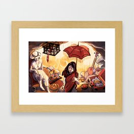 In the Cavemouth Framed Art Print