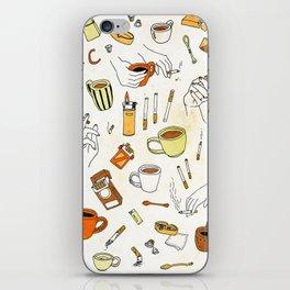 Coffee & Cigarettes iPhone Skin