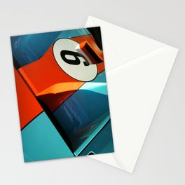 Car Numero 6 Stationery Cards