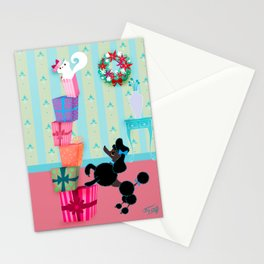Precocious Poodles Stationery Cards