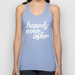 happily ever after Unisex Tank Top