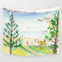 Rainbow Bay, Qld. Australia Wall Tapestry