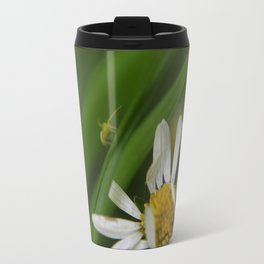 The flower and the friend Travel Mug