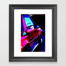 Suzuki Vitara print Framed Art Print