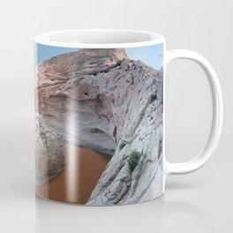Rock mountain lake Coffee Mug