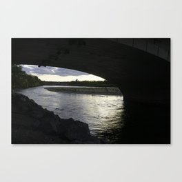 Under the 10th St Bridge Canvas Print