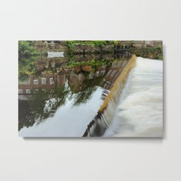 Edge of Calm Waters Metal Print