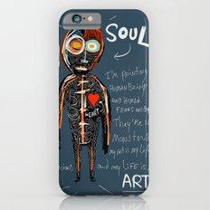 Heart and Soul street art graffiti art brut painting iPhone 6s Slim Case