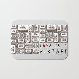 Love is a Mixtape Bath Mat