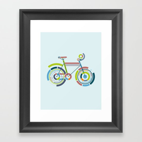 Bicyrcle Framed Art Print