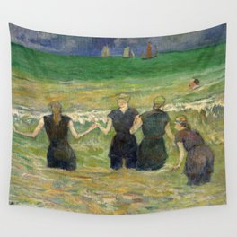 1885 - Gauguin - Women Bathing Wall Tapestry