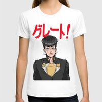 jjba T-shirts featuring GREAT! by dggeoffing