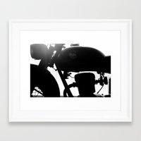 motorbike Framed Art Prints featuring Motorbike by Paolo Mazzanti