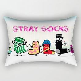 Stray Socks Rectangular Pillow
