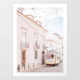 Lisbon Tram 28 Art Print