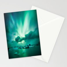 Aurora Borealis. Stationery Cards