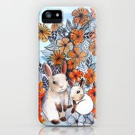 Easter Bunnies iPhone Case