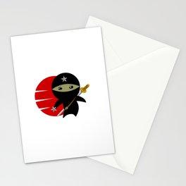 NINJA STAR Stationery Cards