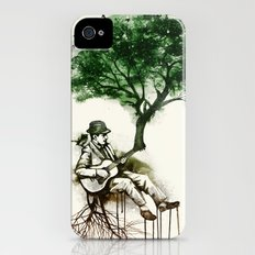 'In the rhythm of nature' Slim Case iPhone (4, 4s)
