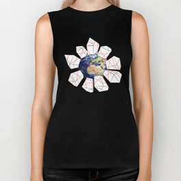 Wrapped to a Warped World Biker Tank
