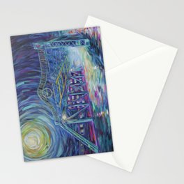 Riverside Bridge Stationery Cards