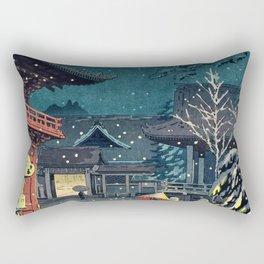 Tsuchiya Koitsu - NEZU TEMPLE Rectangular Pillow