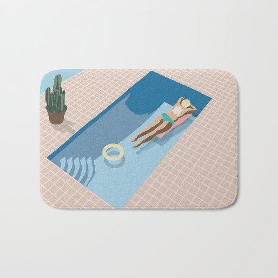 2 COOL 4 POOL Bath Mat