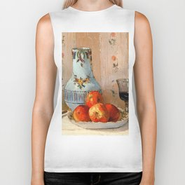 Pissarro - Apples & Wine (Detail) Biker Tank